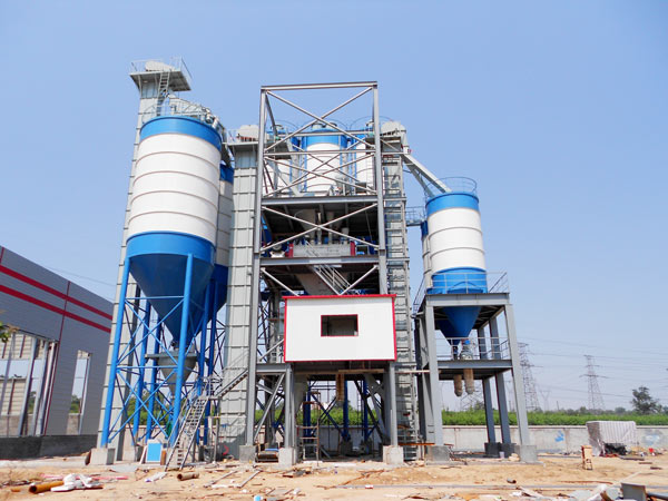 dry mortar production lines