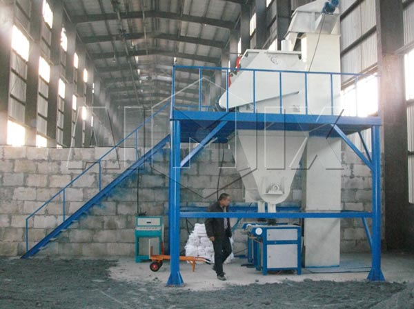 10t Ready Mix Dry Mortar Plant