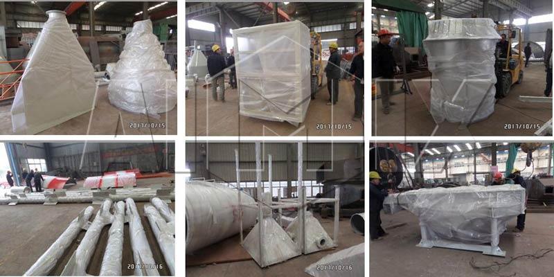 Aimix dry mortar produciton line in Peru