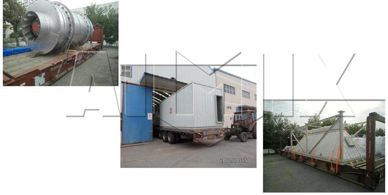 Aimix dry mortar plant to Peru