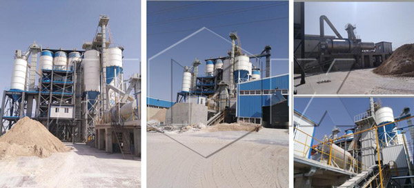 30th Dry Mortar Production Line In Iran