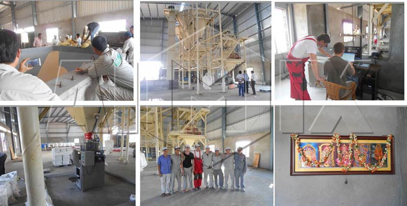 Aimix wall putty manufacturing plant in Iran