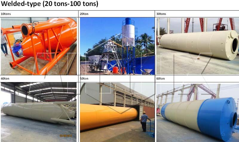 aimix welded cement silo