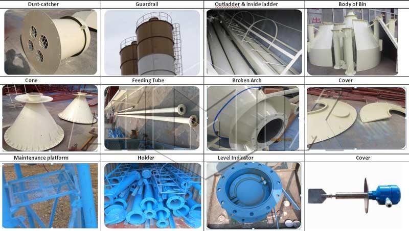 cement silo components