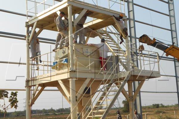 dry mix mortar plant in India
