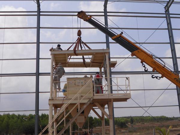 Aimix Dry Mortar Plant in Iran 1