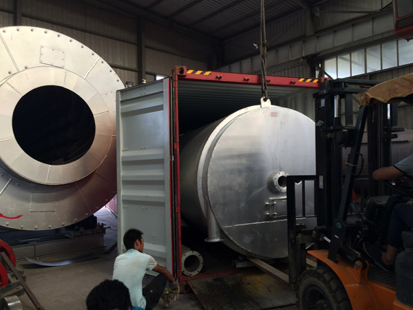 dry mortar production line export to Indonesia 2