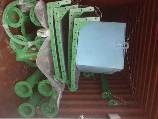 Aimix cement silo exported