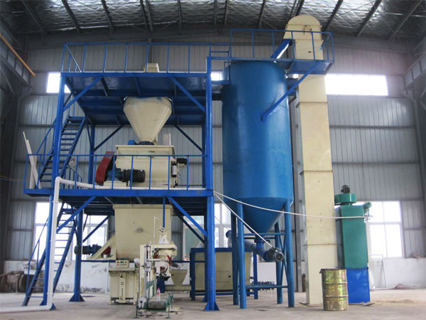 semi-automatic dry mortar production line