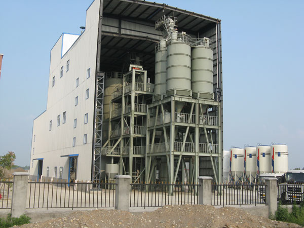 big wall putty manufacturing plant