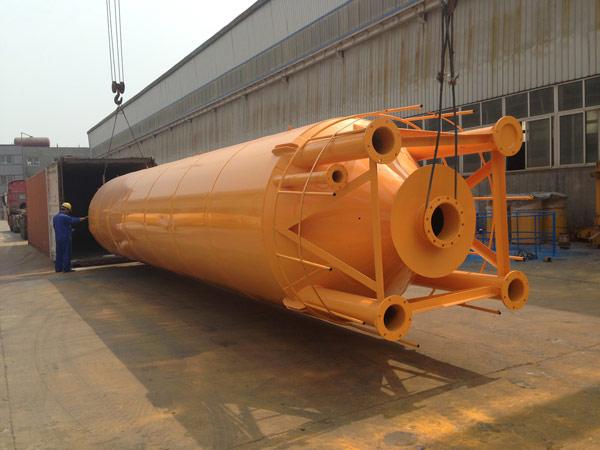 Aimix cement silo sent to Australia