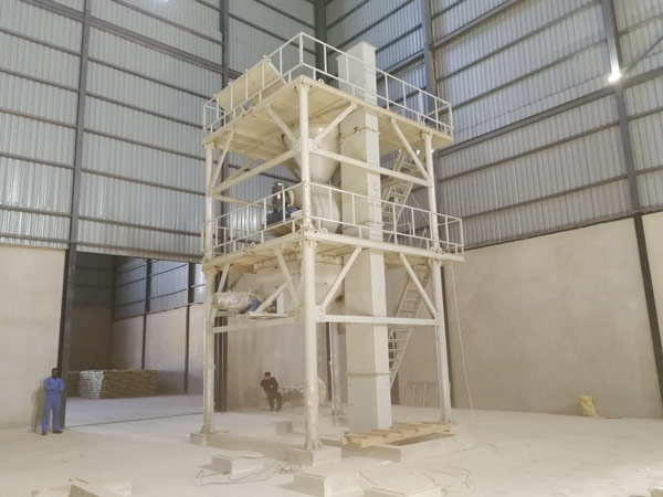 Aimix tile adhesive plant set up in Zambia 1