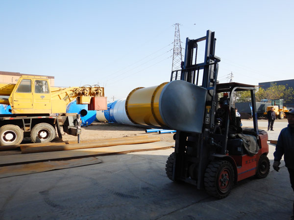 Aimix bolted cement silo sent to Bolivia 4
