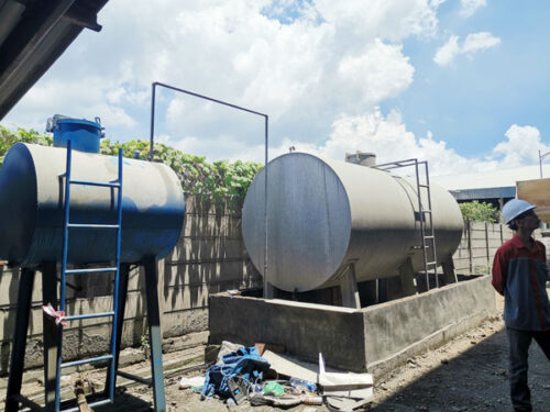 Aimix sand dryer to Indonesia 2