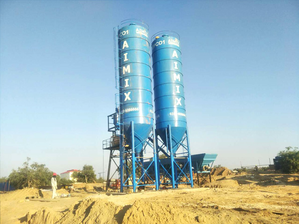 Aimix cement silo in Pakistan 1