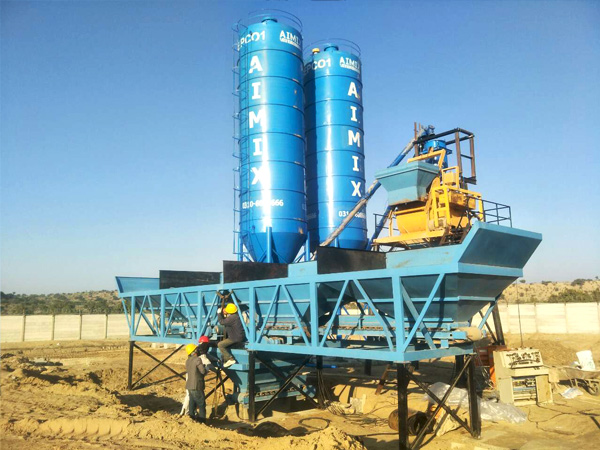 Aimix cement silo in Pakistan 2
