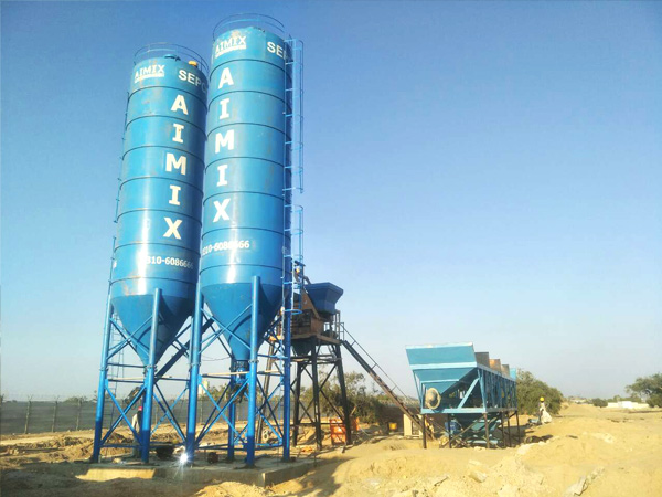 Aimix cement silo in Pakistan 5