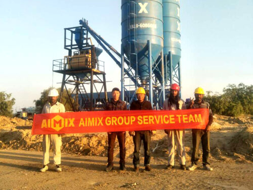 Aimix cement silo in Pakistan 6