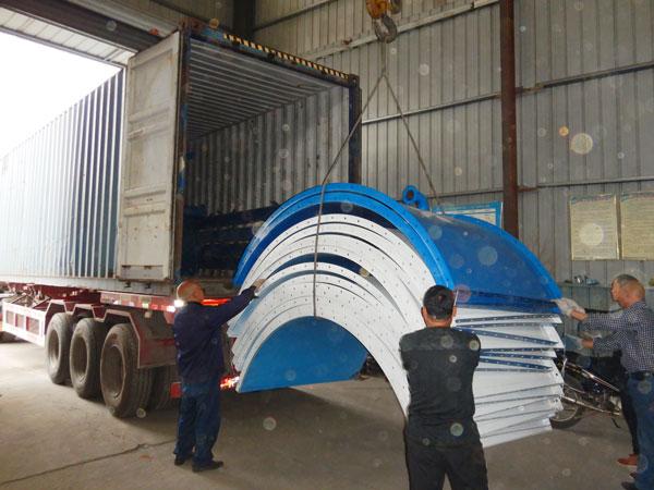 Aimix cement silo sent to Uzbekistan 3