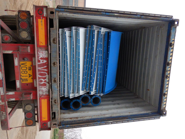 Aimix cement silo sent to Uzbekistan 4