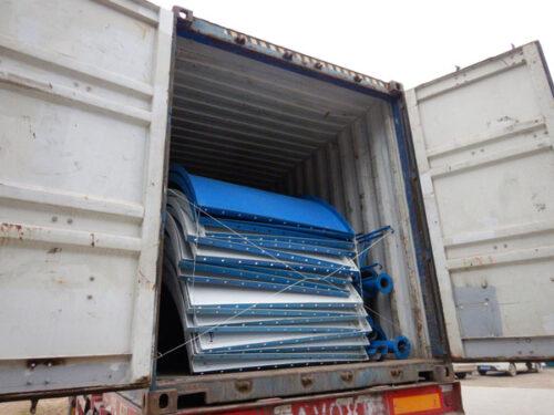 Aimix cement silo sent to Uzbekistan 5