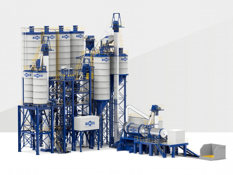 tile adhesive plant