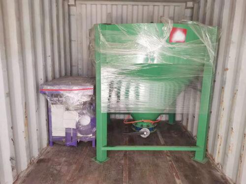 AIMIX 2 ton tile adhesive plant